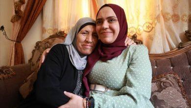 صورة أنهار الديك بعد إطلاق سراحها: إسرائيل حاولت قتلي وكدت أفقد جنيني