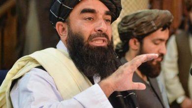 صورة أول تصريح من حركة طالبان بشأن التفجيريْن الذيْن استهدفا مطار كابل
