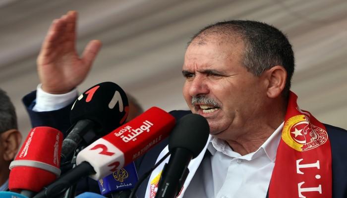 اتحاد الشغل التونسي رافضا خطط تعليق الدستور: البرلمان أولا