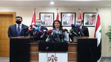صورة الاتفاق على خارطة طريق لنقل الغاز المصري إلى لبنان عبر الأردن وسوريا