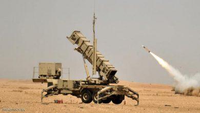 صورة التحالف: اعتراض وتدمير طائرة مفخخة أطلقتها المليشيات الحوثية تجاه خميس مشيط