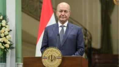 صورة الرئيس العراقي: هناك حاجة لتعديل الدستور الحالي لضمان التفاهم