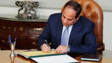 صورة الرئيس المصري يصادق على ميثاق منتدى غاز شرق المتوسط