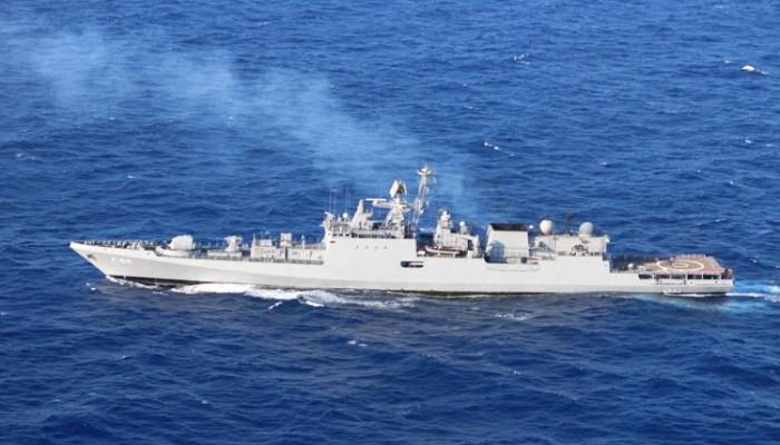 القوات البحرية المصرية والهندية تنفذان تدريبا في المتوسط