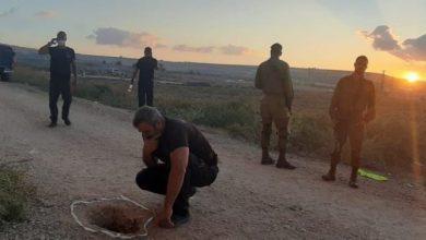 صورة الكشف عن موقع الفلسطينيين الهاربين من سجن جلبوع الإسرائيلي شديد الحراسة