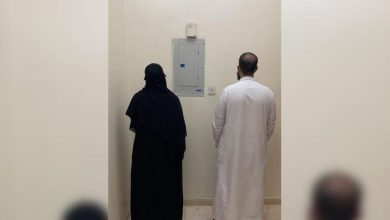 صورة بالصور والفيديو: القبض على وافد ووافدة بعد مداهمة شقة سكنية في الرياض.. والكشف عن جريمتهما