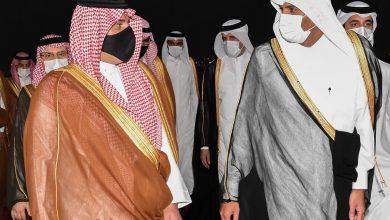 صورة بالصور.. وزير الداخلية يصل الدوحة في زيارة رسمية لقطر