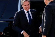 صورة بلينكن يصل إلى قطر لإجراء محادثات حول أفغانستان