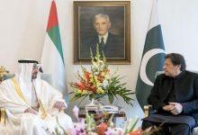 صورة بن زايد يبحث مع عمران خان الوضع في أفغانستان