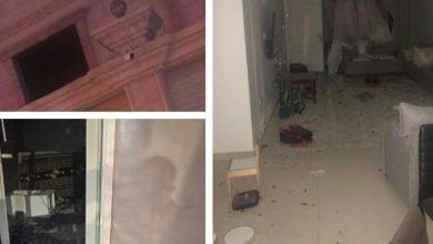 صورة بيان من الدفاع: إصابة طفلين وتضرر 14 منزلا نتيجة اعتراض صاروخ باليستي و تناثر الشظايا على حي بالدمام-صور