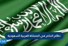 صورة ما هو نظام الحكم في المملكة العربية السعودية