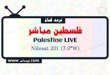 صورة تردد قناة فلسطين مباشر الجديد Palestine Live TV 2022 على نايل سات