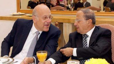 صورة خلاف عون وميقاتي.. اتهامات متبادلة حول تأخر تشكيل الحكومة اللبنانية