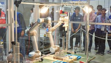 صورة روبوت سعودي بأيادٍ وطنية يشارك في قمة اليابان العالمية.. هنا تفاصيل المشاركة التاريخية -صور