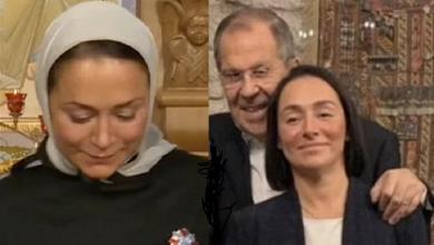 صورة ظهور فيديو لعشيقة سرية في حياة وزير الخارجية الروسي