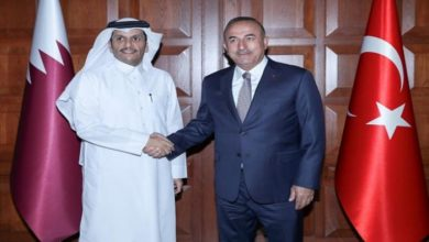 صورة عشية قمة الدول السبع.. قطر وتركيا تبحثان المستجدات بأفغانستان