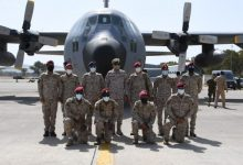 صورة قوات سعودية تصل إلى اليونان من أجل تمرين عسكري بمشاركة الإمارات ومصر
