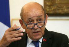 صورة لودريان: فرنسا لا تنوى الاعتراف بحكم طالبان