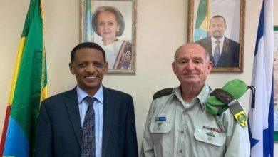 صورة مباحثات إسرائيلية إثيوبية حول تعزيز التعاون العسكري والدفاعي