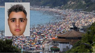 صورة مراهق آسيوي اغتصب طفلة بريطانية في البحر أمام الآلاف