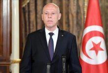 """صورة """"مشاهد تمثيلية"""".. صحفي تونسي يصف لقاء سعيد بضيوفه في قصر قرطاج"""