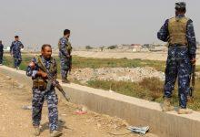 صورة مقتل 13 من الشرطة العراقية بهجوم قرب كركوك