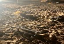 صورة هجوم صاروخي على قاعدة أمريكية بمنفذ بين العراق والكويت (فيديو وصور)