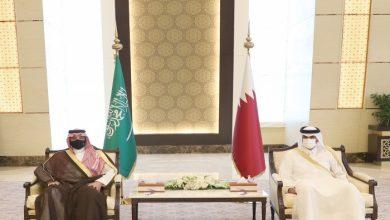 صورة وزير الداخلية القطري يعلق على مباحثاته مع نظيره السعودي.. ماذا قال؟