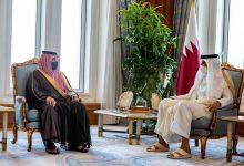 صورة وزير الداخلية يغرد عن زيارته إلى قطر.. ويكشف تفاصيل جولته ومباحثاته مع الشيخ تميم بن حمد – صور