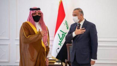 صورة وزير الداخلية يكشف عن تفاصيل زيارته إلى العراق.. ومباحثاته مع الكاظمي – صور