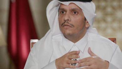 صورة وزير خارجية قطر: لهذا السبب نعمل مع طالبان في أفغانستان