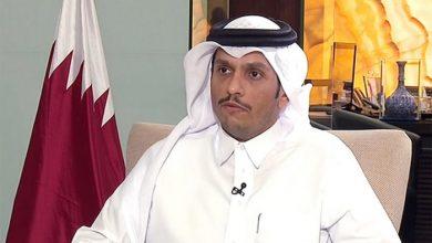 صورة وزير خارجية قطر: نحث طالبان على تشكيل حكومة موسعة