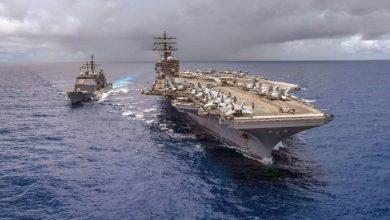 صورة وسط توترات مع إيران.. قوة أمريكية مسيرة عن بعد للردع في الخليج
