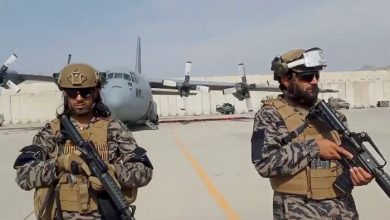 صورة وفد إماراتي إلى كابل لإجراء محادثات مع طالبان