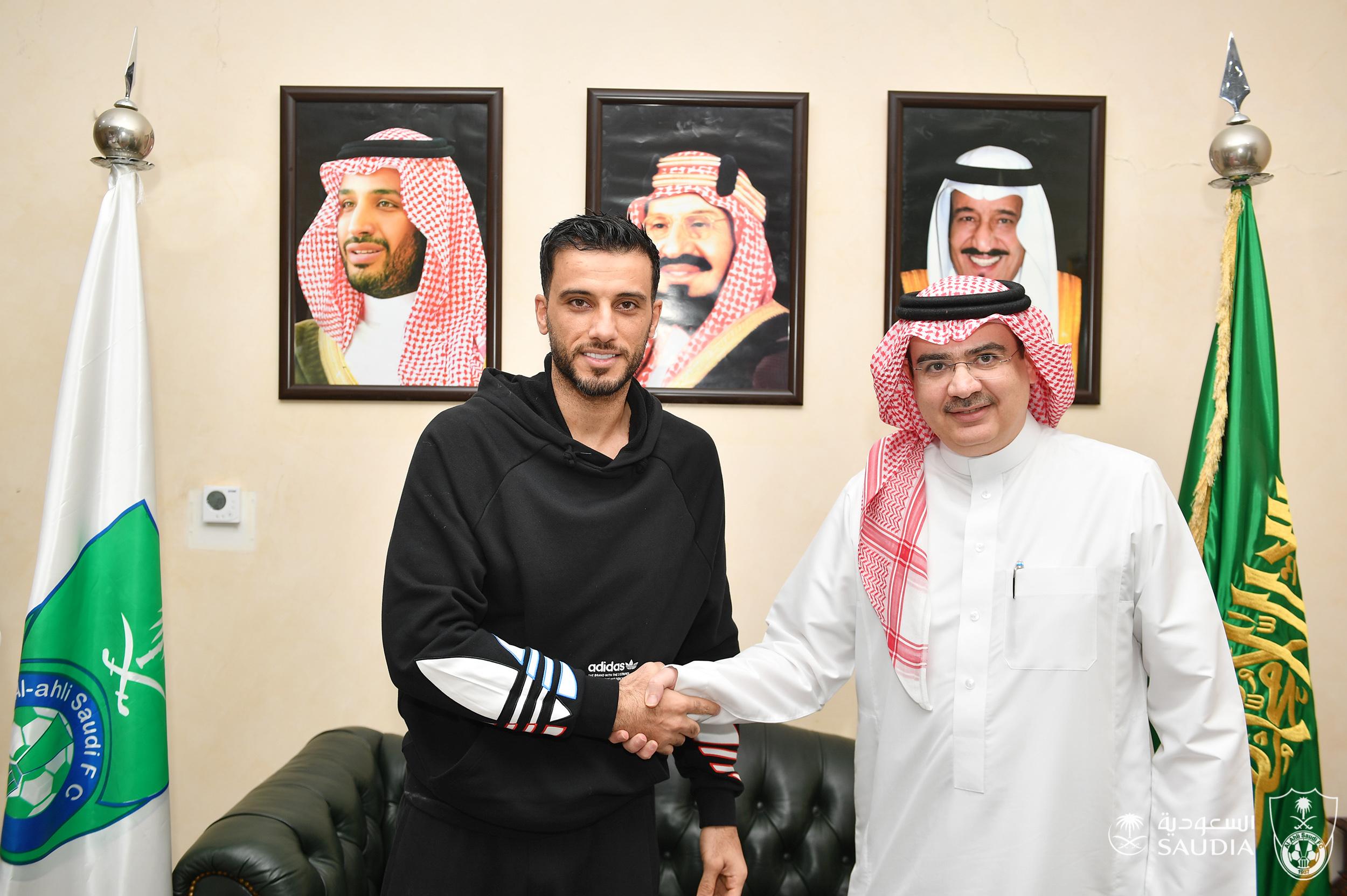 صورة الأهلي السعودي يجدد عقد السومة حتى عام 2024