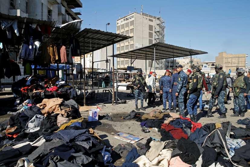 صورة إدانات محلية ودولية للتفجير الدامي ببغداد