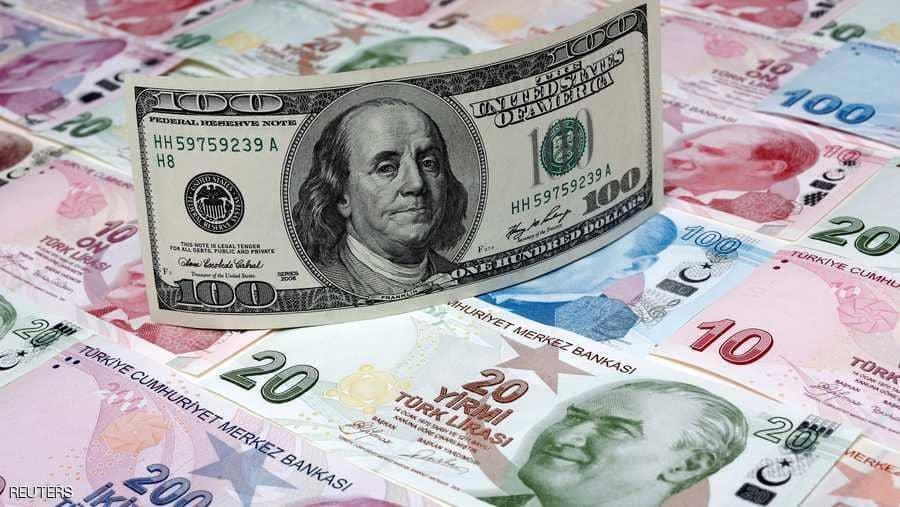 صورة الليرة التركية تهبط 2% وصعود الدولار
