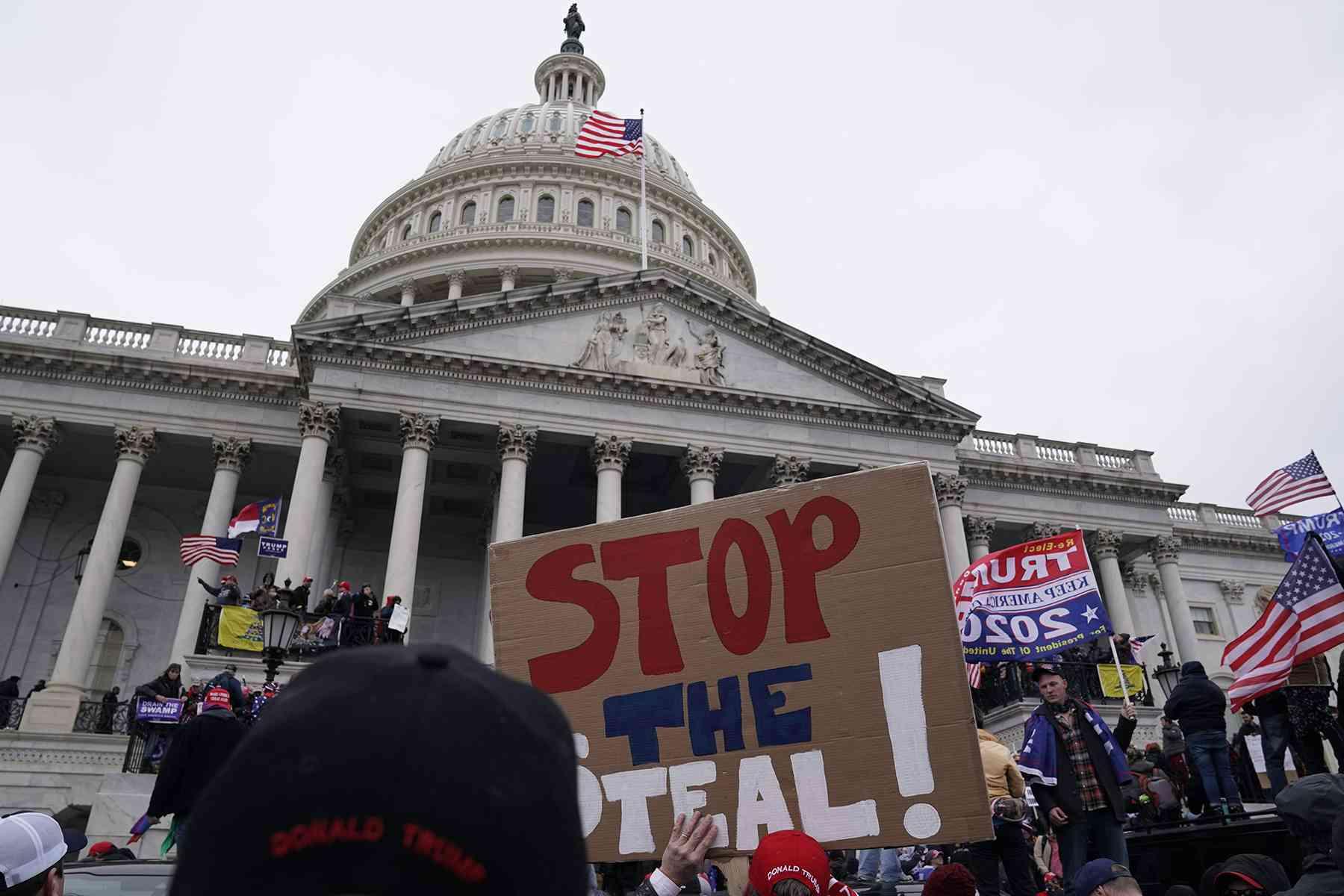 """صورة البنتاغون يرفض نشر """"الحرس الوطني"""" في الكونغرس"""