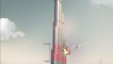"""صورة تهديدات بضرب برج """"خليفة"""" في دبي بطائرات انتحارية"""
