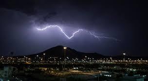 صورة الأرصاد السعودية: أمطار رعدية وغبش في الرؤية