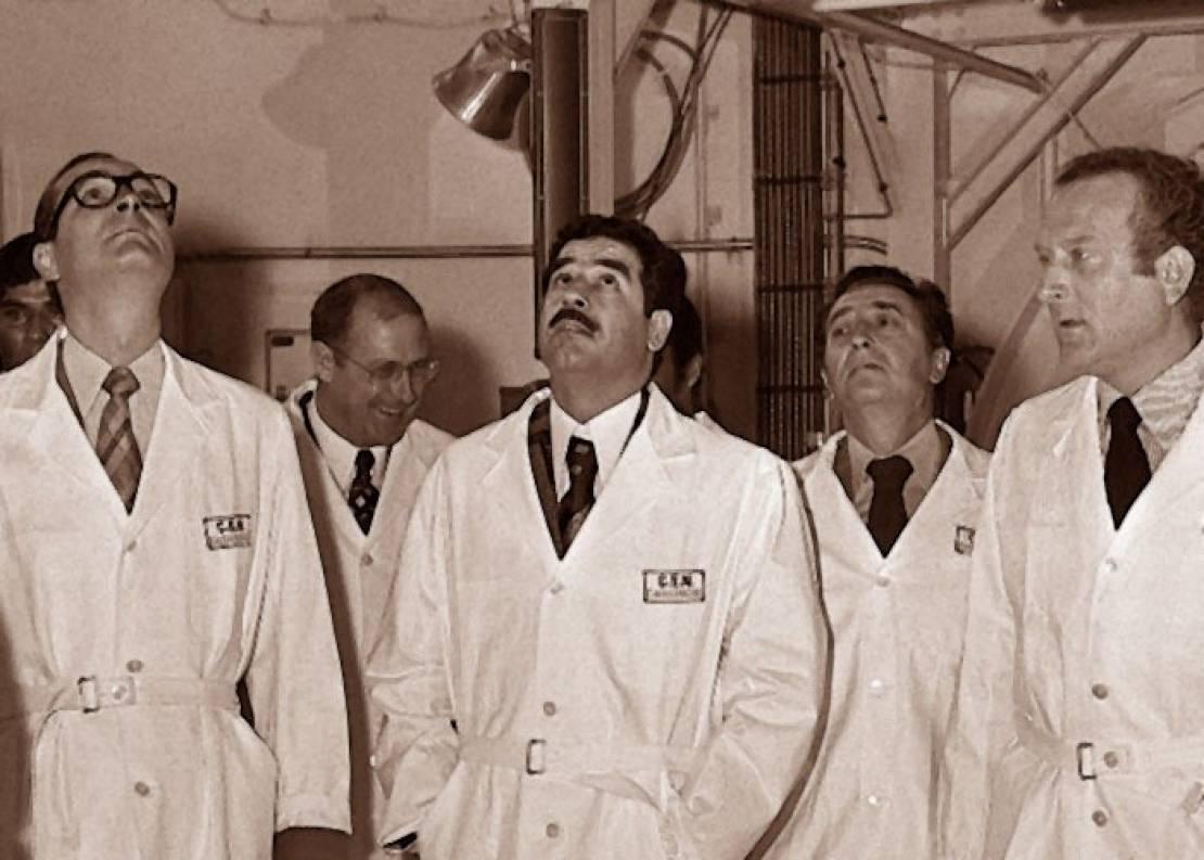 """صورة هل منعت """"إٍسرائيل"""" صدام حسين من الحصول على أسلحة نووية؟"""