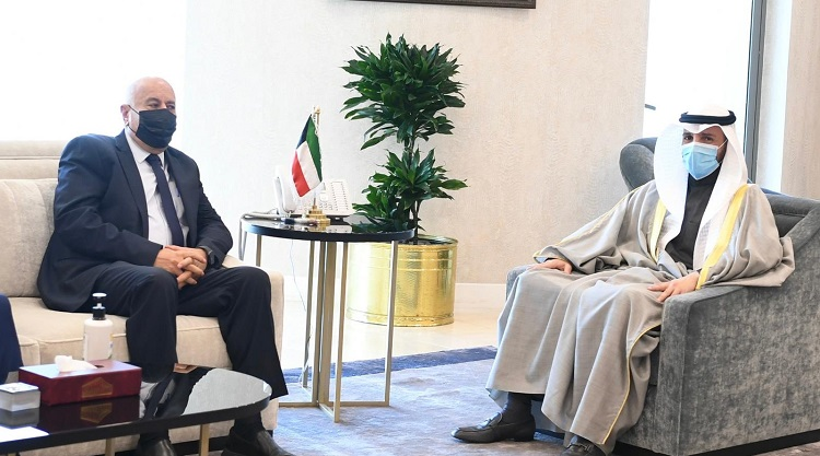 صورة الغانم: الكويت تدعم الوحدة الفلسطينية وترفض التطبيع