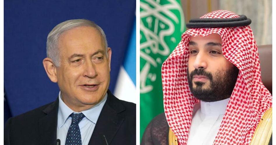 """صورة السعودية تعاقب """"إسرائيل"""" بعد تسريب لقاء بن سلمان ونتنياهو"""