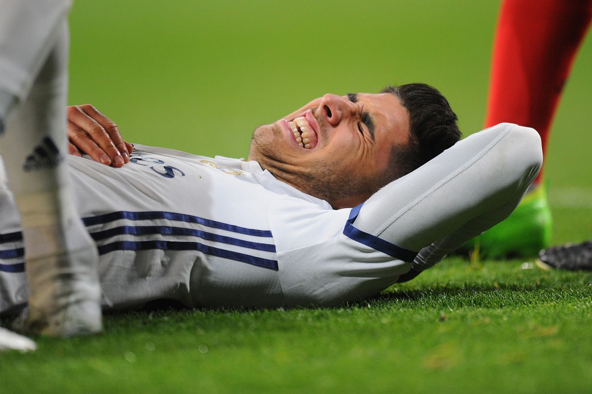 صورة إصابة جديدة تزعج ريال مدريد