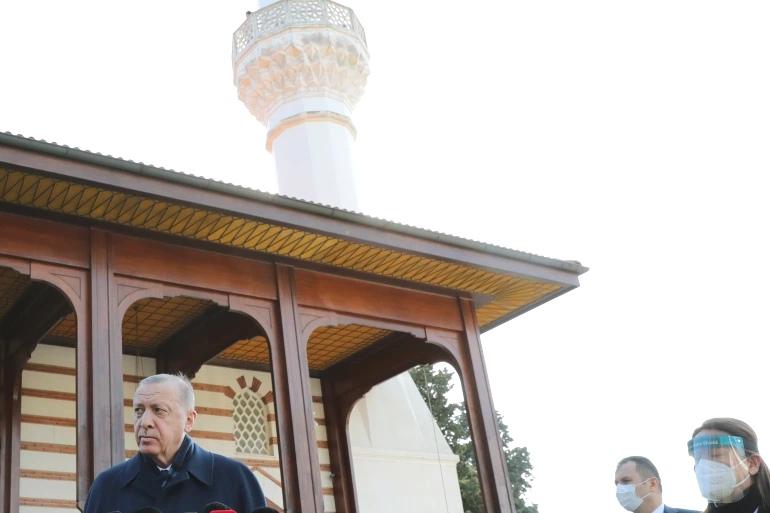 صورة أردوغان لا يستبعد التدخل شمال العراق