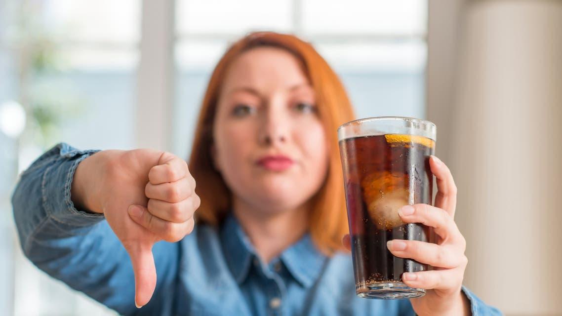 صورة خطورة المشروبات الخالية من السكر