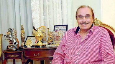 صورة وفاة الممثل والفنان المصري الكبير عزت العلايلي