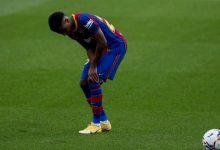 صورة نجم برشلونة يتعرض لانتكاسة جديدة