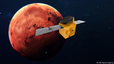 """صورة """"مسبار الأمل"""" الإماراتي يصل المريخ"""
