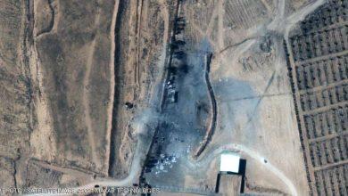 صورة غارات تهز مناطق تابعة لإيران في سوريا